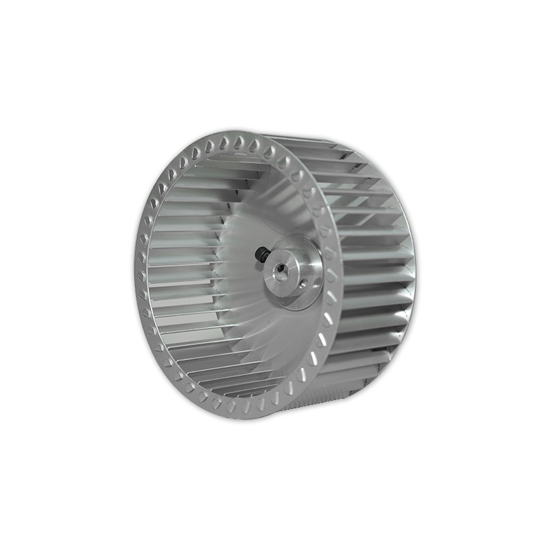 Single-side air inlet forward inclined centrifugal fan