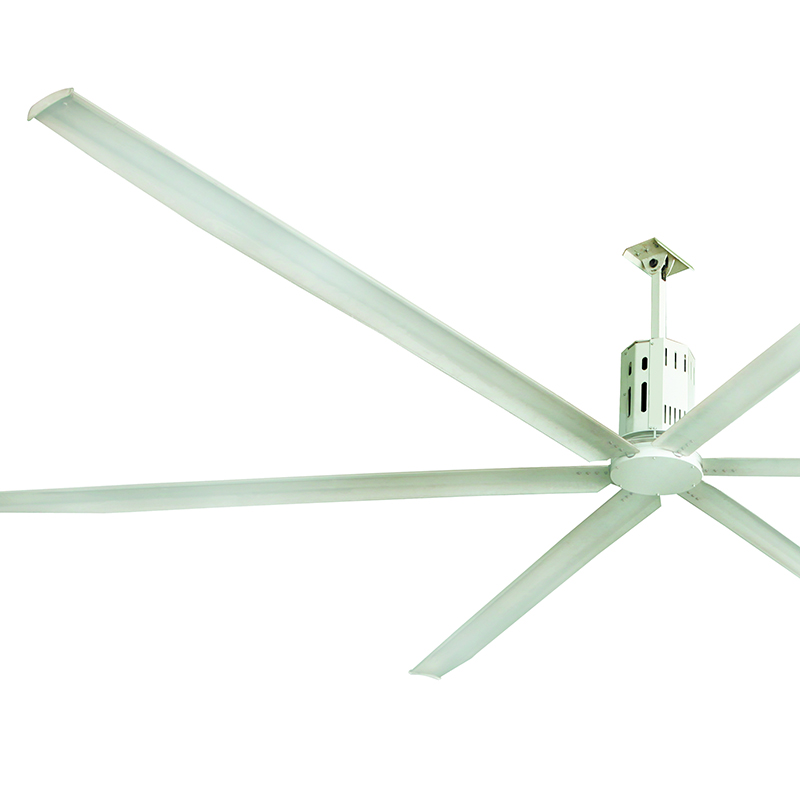 24ft (7.3m) Lenze Brand Gear Box Large Industrial Ceiling Fan